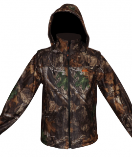 CHAQUETA SOFTSHELL QUAIL TIMBER